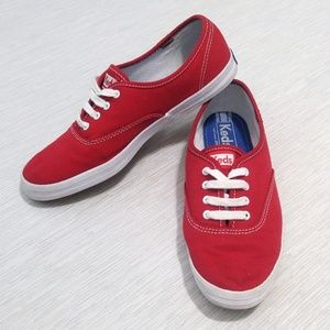 Classic Red Keds size 7.5 Excellent Condition